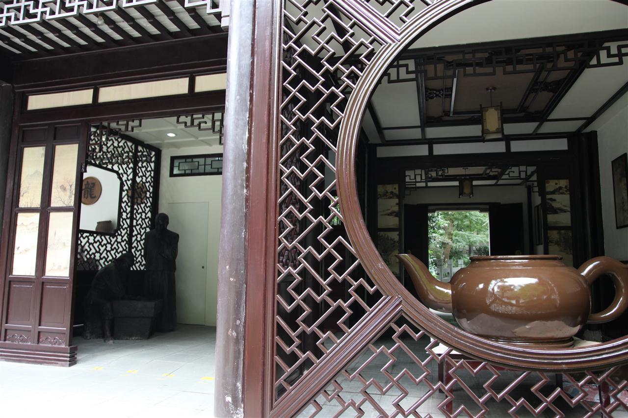 Case Tradizionali Cinesi : Case tradizionali lungo grand canal città antica di yuehe in